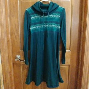 Prana hooded sweater dress - size Small